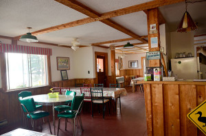 Inside Restaurant at Blue Mountain Lodge in the Kawarthas